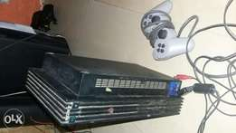 Playstation 2 with one analog pad