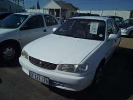 2001 Toyota Corolla Facelift 5 speed