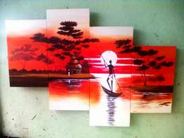 Artworks hand painted