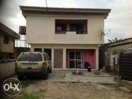 A storey building of 2 bed room flat with big store for sale