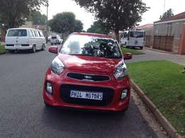 2015 Kia Picanto 1.2 full house with sunroof, mileage 20000
