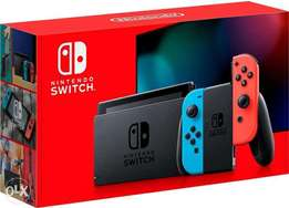 Nintendo switch with 2 cds