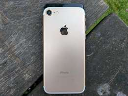 Apple iphone 7 128gb gold/black Brand new with warranty