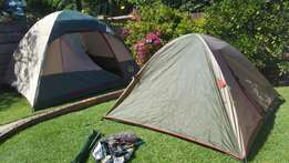 6 man and 4 man tent