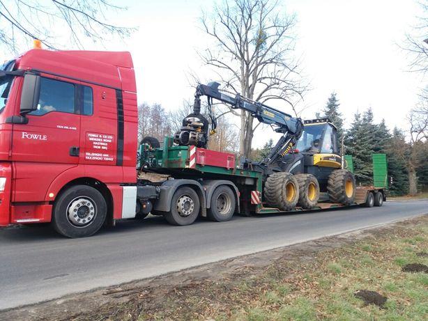 Wspaniały Transport Niskopodwoziowy Maszyn Leśnych Harwester-Forwarder RA76