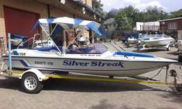 Swift 170 with Yamaha 200 HP outboard engine excellent condition