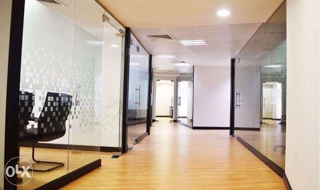 Furnished offices for rent-(مكاتب للايجار (مركز الاعمال