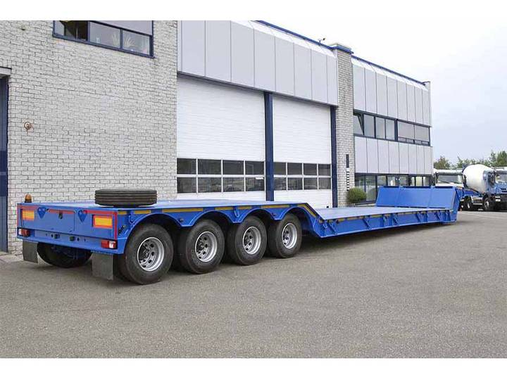 Invepe SRPM 4DMF 190 PH 4 AXLE LOWBED TRAILER