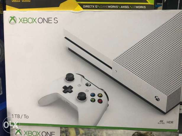 Xbox One S White Edition
