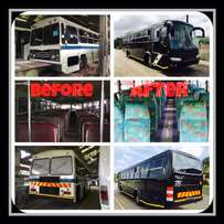 Refurbishment and repairs of busses