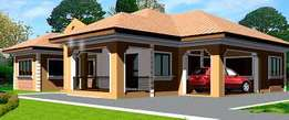 4 bedroom self compound for rent at adenta Ritz junction