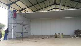 Office and classrooms built with insulated panels