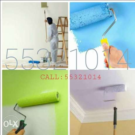 We do all kinds of painting work