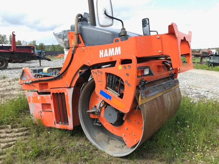Hamm Dv 90 Vo For Parts - 2014