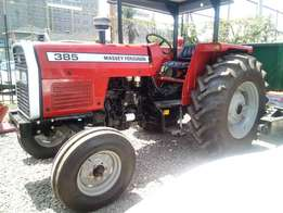 Massey Ferguson 385,85Hp, With 3Disc Plough and Warranty, Over 10Units