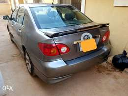 2006 Toyota corolla leather/Formica/open roof/low mileage