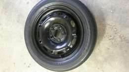Polo 14 inch rim and tyre