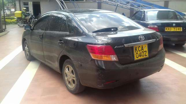 Black New shape Toyota Allion extra clean on quick sell Nairobi CBD - image 1