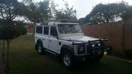 Land Rover Defender 110 TD5 with low kilometers and in very good cond