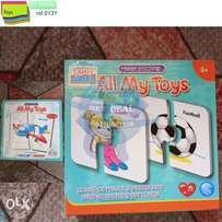 educational all my toys 3+