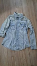 271b782a7bc Джинсовая Рубашка - Женская одежда в Запорожье - OLX.ua