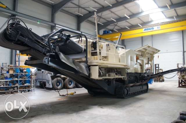 crushing unit for aggregates