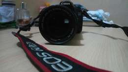 Neat Canon 60D with 18-135mm IS lens
