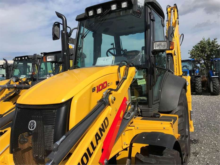 New Holland B100c Sss - 2018