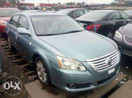Sky blue 2008 Toyota Avalon for sale at affordable car
