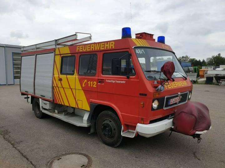 MAN 8.136 Feuerwehr, Pumpe, - 1986
