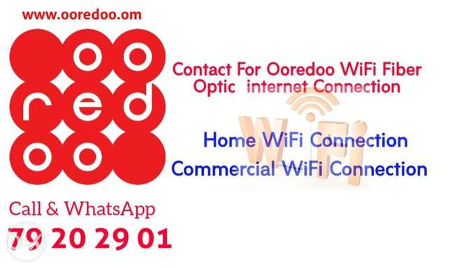 ooredoo unlimited WiFi Connection