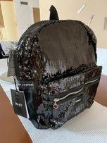 LIU JO sport plecak czarny cekiny 7653919e030