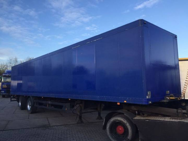 Schmitz Cargobull 2 assen Tridec gestuurd volledig chassis laadklep alluminium - 1998