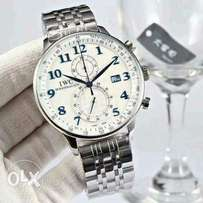 IWC chronograph wristwatch