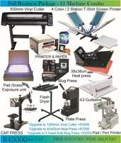 Start your Own Printing Business - Print T-Shirts, Mugs, Signage etc