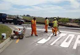 Road marking paint professional in Nairobi