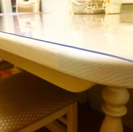 Захисна плівка ПВХ /скатертини для столу, м'яке скло Харків - зображення 4