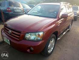 Toyota Highlander 2006 model