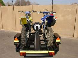 Standard dirt bike trailer