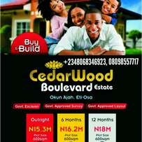 Buy and build plots of dry land with government excision Lagos Island