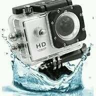 1080P FULL HD Action spots cam 30M Waterproof action camcoder