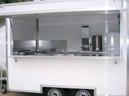 Brand New Fully Equipped Food Trailers / Mobile Kitchens.