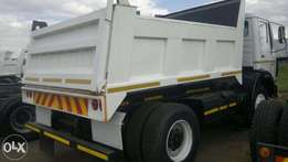 Mercedes benz 10 cube tipper trucks for sale.