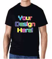 T-shirt screen printing full colour
