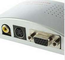 VGA to TV video mixing converter