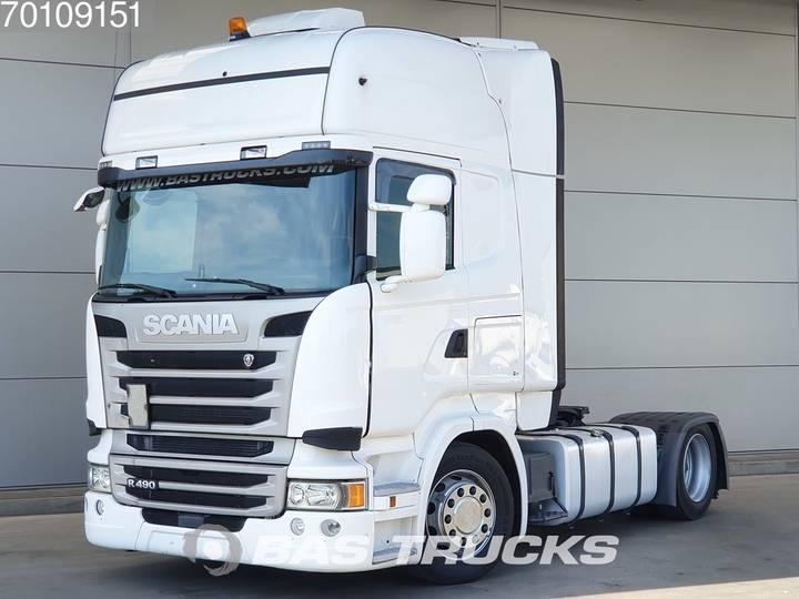 Scania R490 4X2 Retarder Mega Standklima Euro 6 - 2014