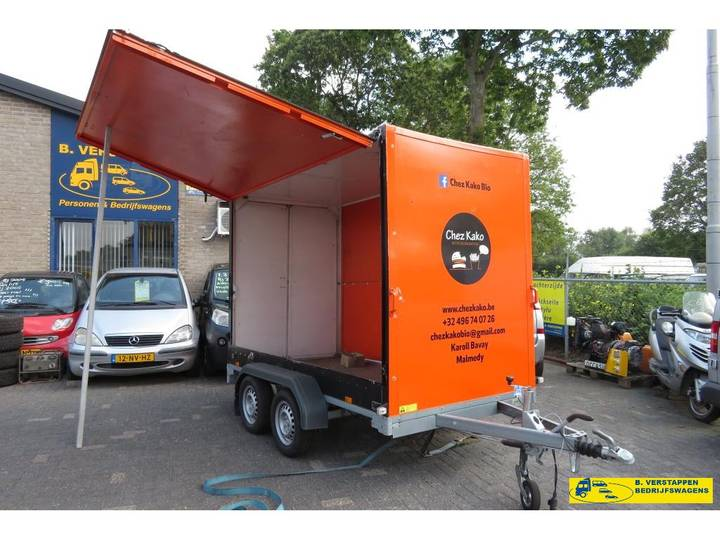 Saris C2000 verkoop aanhangwagen - 2017