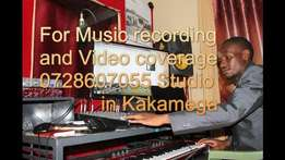 Music recording and video coverage kakamega