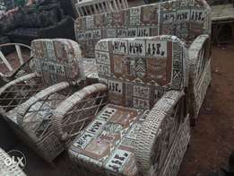 Africans chairs 5 seaters