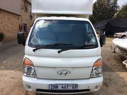 2007 Hyundai H100 - Canopy with roller door
